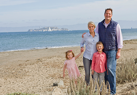 On Location: Crissy Field Family Session