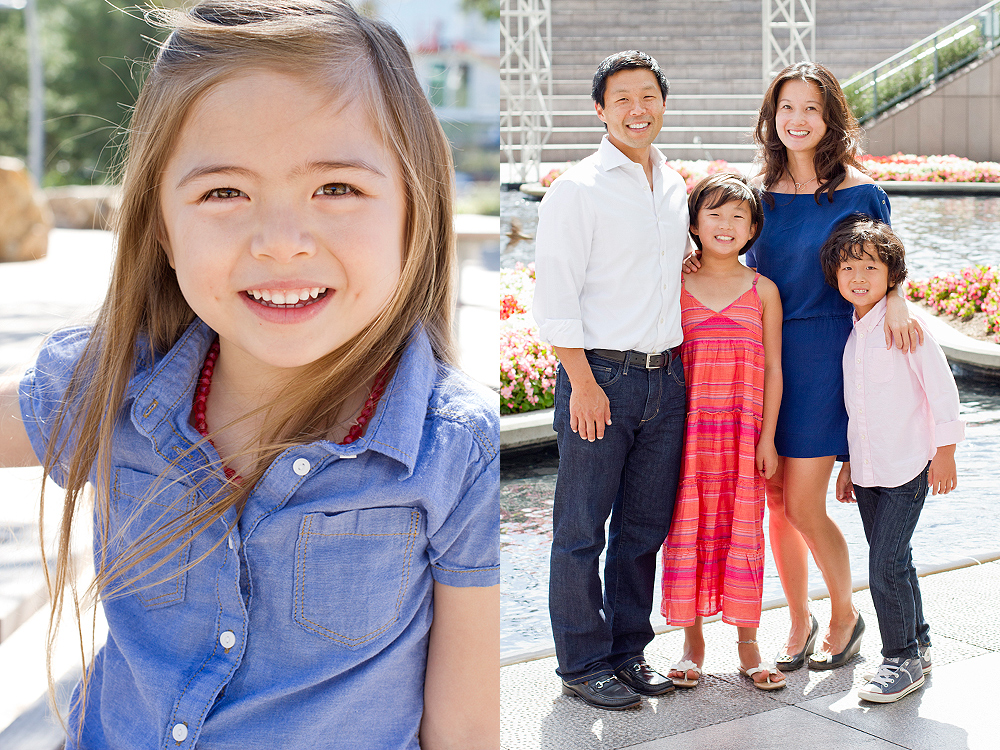 los angeles family photo shoot locations